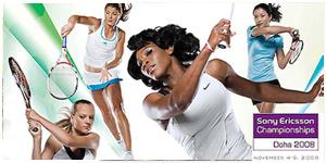Clients: Sony Ericsoon/WTA Tour - Location: Rome