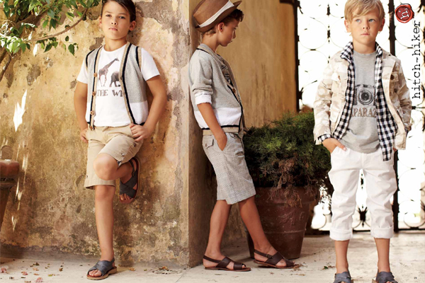 One of the fashion catalogue shot in Capri for Hitch-Hike