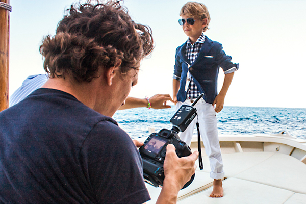 Photo Backstage Hitch - Hiker Child Fashion Catalogue in Capri Island