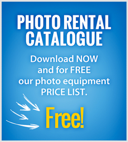 Photo Equipment Rental Catalogue - Free Download