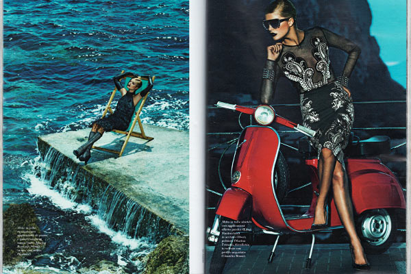 Fashion shooting in Italy, Equipment rent and production services in Capri