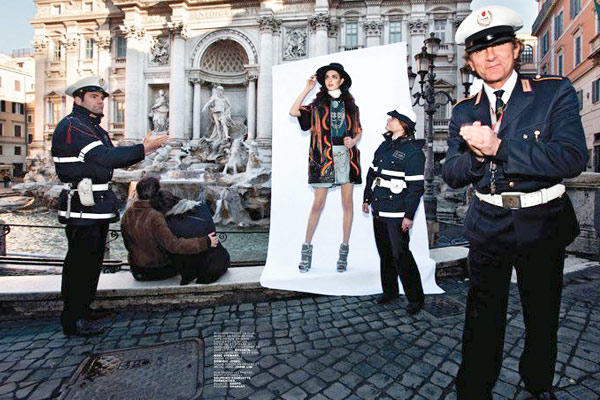 Fashion Photographer in Rome