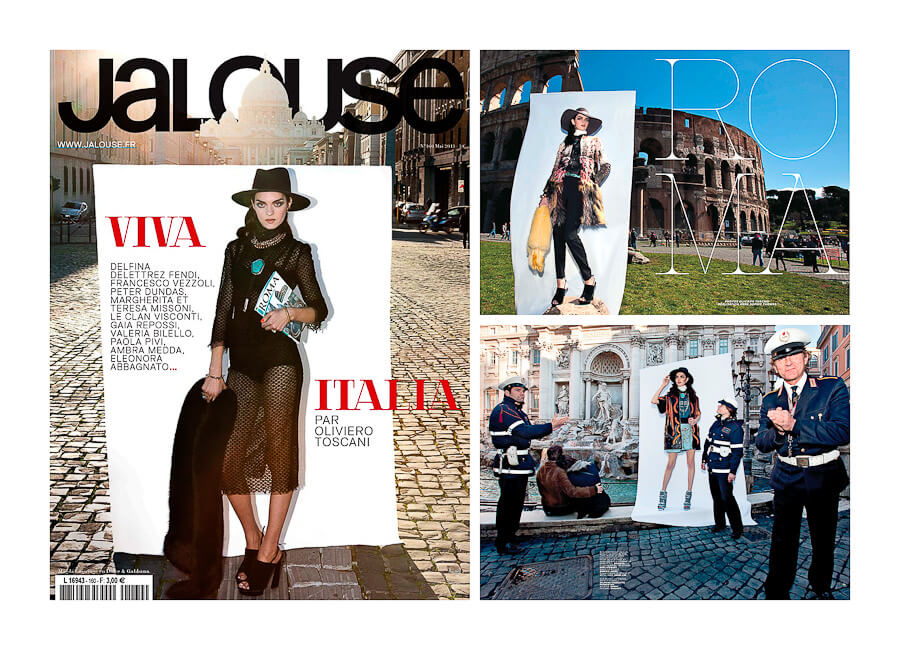 Jalouse Magazine Best Photo production in Italy