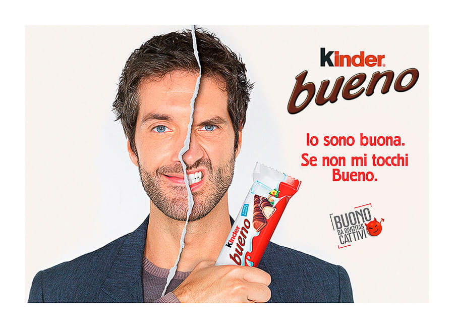Best Photo production in Italy Kinder Ferrero
