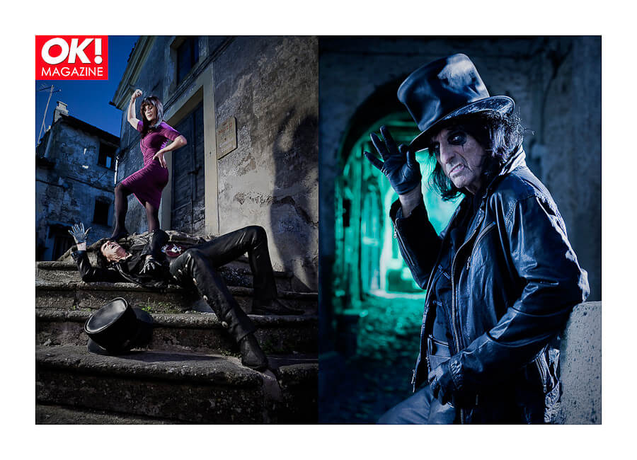 Best Photo production in Italy OK! Magazine