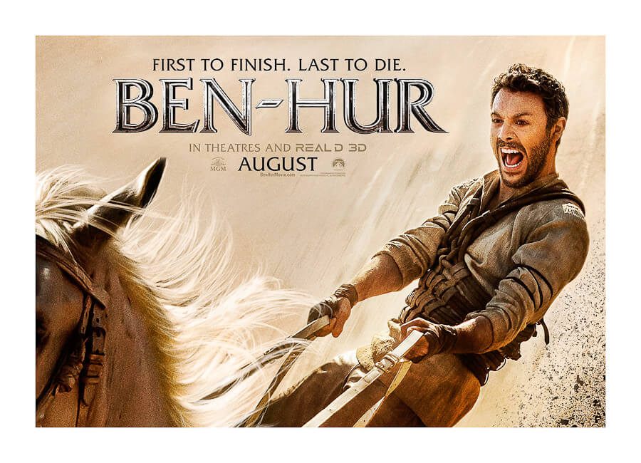 Best Photo production in Italy BEN HUR MOVIE