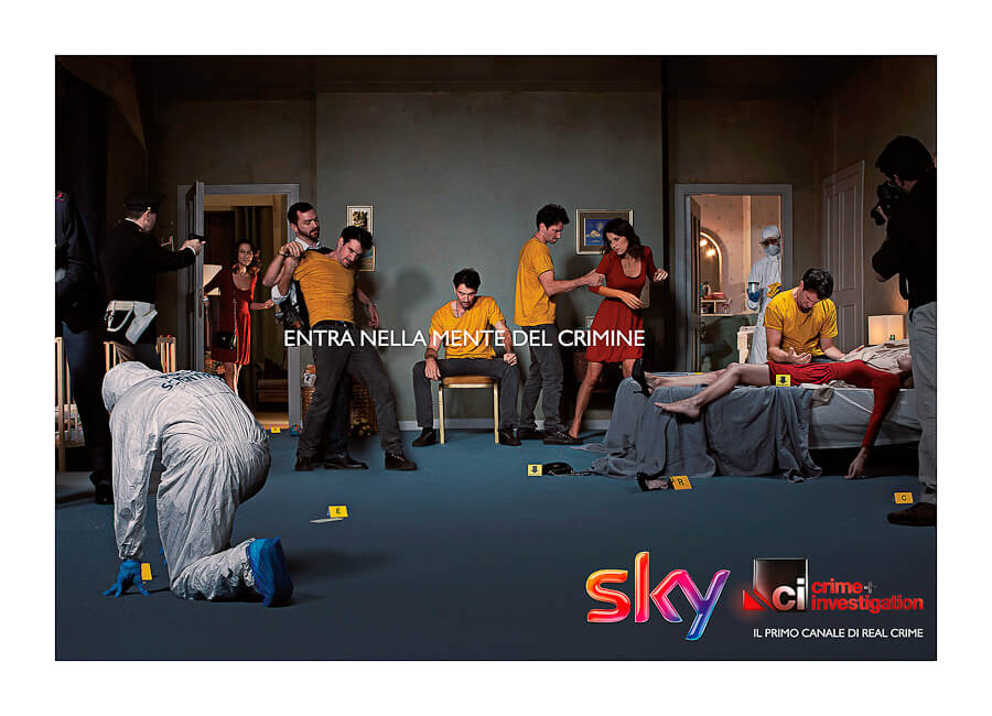 Best Photo production in Italy SKY TV