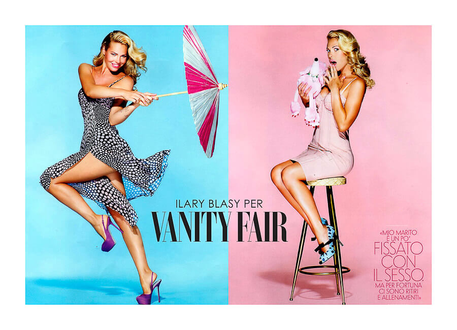 Vanity Fair Best Photo production in Italy