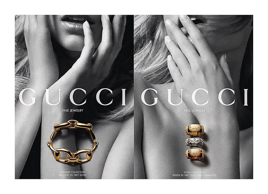 Best Photo production in Italy Gucci Jewelry
